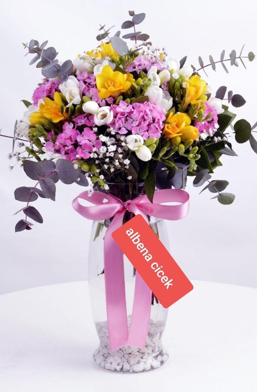 Bahar kokusu rekli bahar çiçekleri